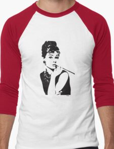 Audrey Hepburn Men's Baseball ¾ T-Shirt
