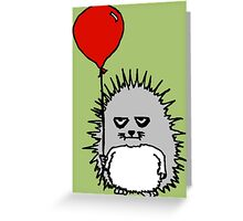 Happy Birthday Reggie T. Hedgie Greeting Card