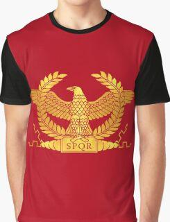 Roman Golden Eagle Graphic T-Shirt