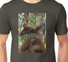 Two Orangutans Unisex T-Shirt