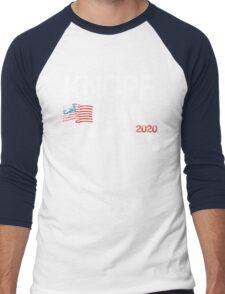 Knope 2020 Distressed Men's Baseball ¾ T-Shirt