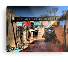 Garcia's Patio Shops~Old Town Albuquerque Metal Print
