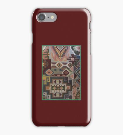 Southwestern Style Geographic Tapestry Aztec Kirsten New Designs iPhone Case/Skin