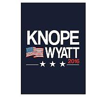 Knope Wyatt 2016 Photographic Print