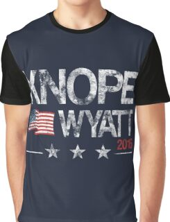Knope Wyatt Distressed  Graphic T-Shirt