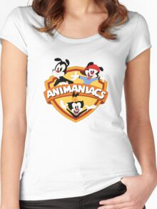animaniacs logo Women's Fitted Scoop T-Shirt