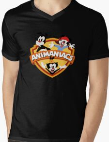animaniacs logo Mens V-Neck T-Shirt