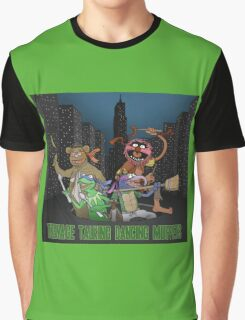 Teenage Talking Dancing Muppets Graphic T-Shirt