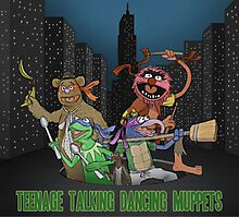 Teenage Talking Dancing Muppets Photographic Print