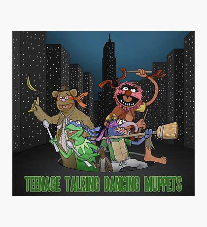 Teenage Talking Dancing Muppets Photographic Print