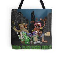 Teenage Talking Dancing Muppets Tote Bag