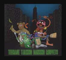 Teenage Talking Dancing Muppets Baby Tee