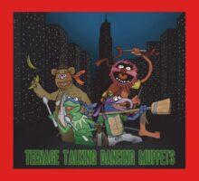 Teenage Talking Dancing Muppets One Piece - Short Sleeve