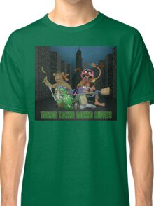 Teenage Talking Dancing Muppets Classic T-Shirt
