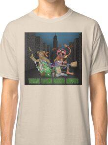 Teenage Talking Dancing Muppets Classic T-Shirt