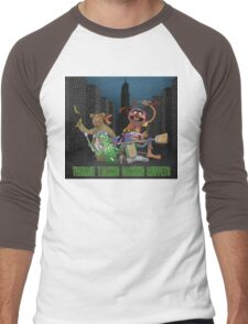 Teenage Talking Dancing Muppets Men's Baseball ¾ T-Shirt