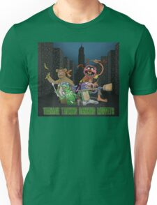 Teenage Talking Dancing Muppets Unisex T-Shirt