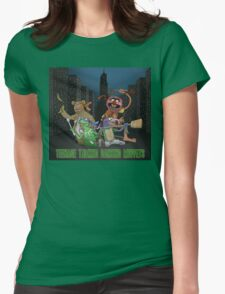 Teenage Talking Dancing Muppets Womens Fitted T-Shirt