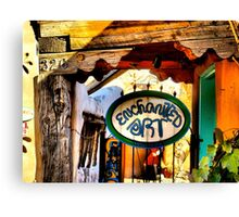 Enchanted Art in Old Town Albuquerque Canvas Print