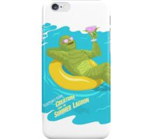 Greetings from the Creature! iPhone Case/Skin