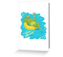 Greetings from the Creature! Greeting Card