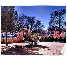 Enchanted Old Town Plaza, Albuquerque Poster