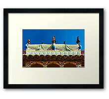Palace Porch 1 Framed Print