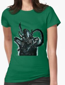 Xenomorph on the Hunt.  Womens Fitted T-Shirt
