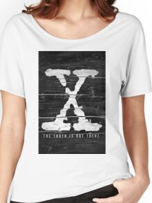 the x-files Women's Relaxed Fit T-Shirt