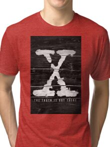 the x-files Tri-blend T-Shirt