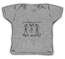 My Daddies Love Me...This Much! (Boy) Baby Tee