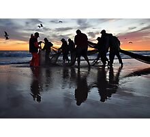 United by the Sea Photographic Print