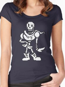 Undertale (Papyrus) Women's Fitted Scoop T-Shirt