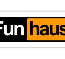 funhaus - funhub Sticker