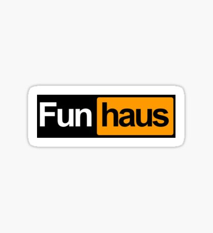 funhaus - funhub Sticker
