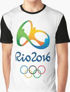Rio De Janeiro Rio 2016 Olympics Graphic T-Shirt