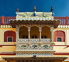 City Palace Porch Photographic Print