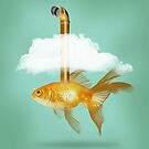 Periscope Goldfish by Vin  Zzep