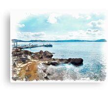 Island La Maddalena: sea landscape Canvas Print