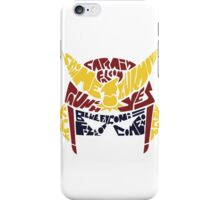Show me your moves! iPhone Case/Skin