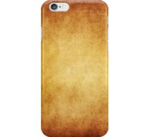 Yellow Brown Parchment Paper Texture Background iPhone Case/Skin
