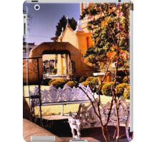 Benches & Portals of San Felipe de Neri on the Old Town Plaza, Albuquerque iPad Case/Skin