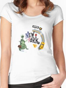 I ♥ New York Women's Fitted Scoop T-Shirt