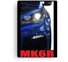 Golf R - MK6 Canvas Print
