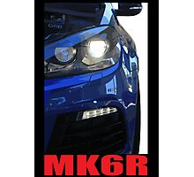 Golf R - MK6 Photographic Print