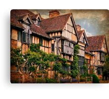 Wick Manor Canvas Print
