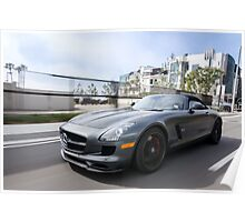 Mercedes Benz SLS AMG GT Final Edition Poster