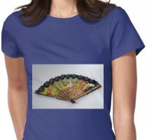 Spanish Dancers Fan Womens Fitted T-Shirt
