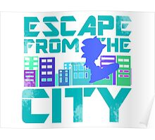 Escape from the City Poster