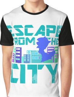 Escape from the City Graphic T-Shirt